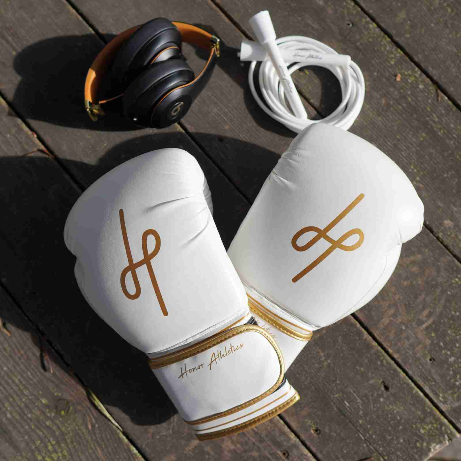 Honor Athletics Gold Boxing Gloves