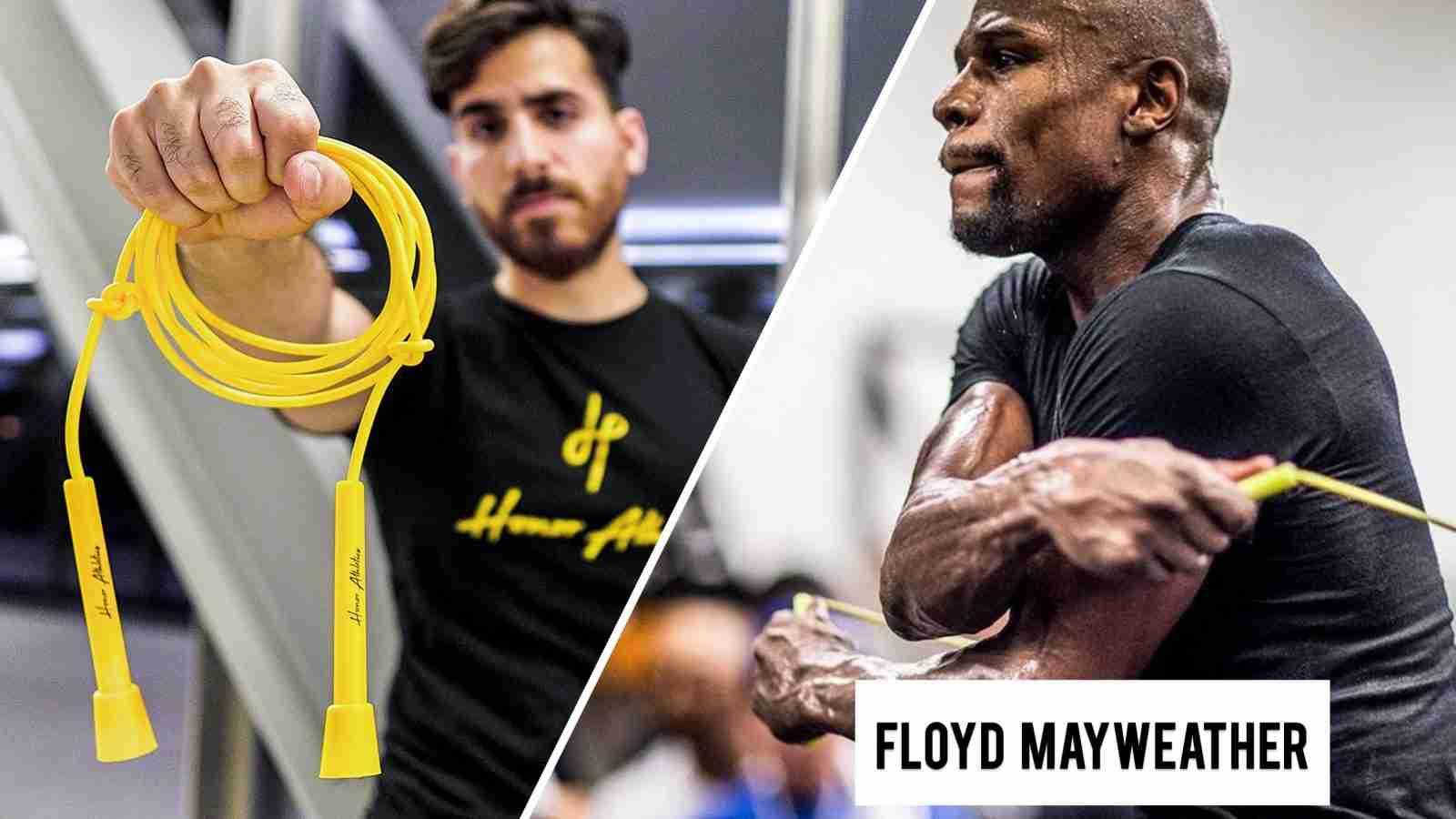 Floyd Mayweather Jump Rope