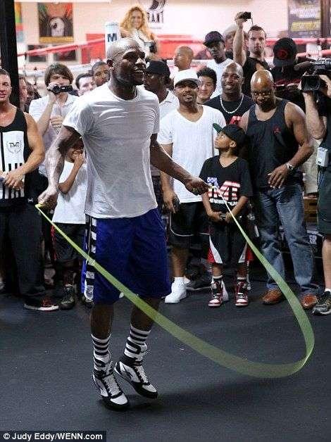 Floyd Mayweather Skipping Rope
