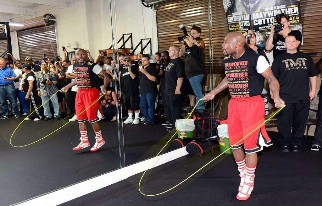 Floyd Mayweather Jump Rope Honor Athletics