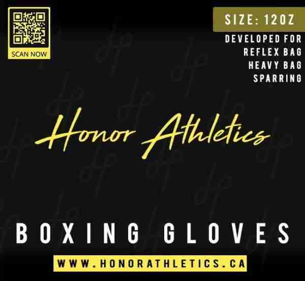 Honor Athletics Boxing Gloves Packing