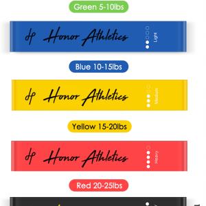 Honor Athletics Loop Resistance Bands
