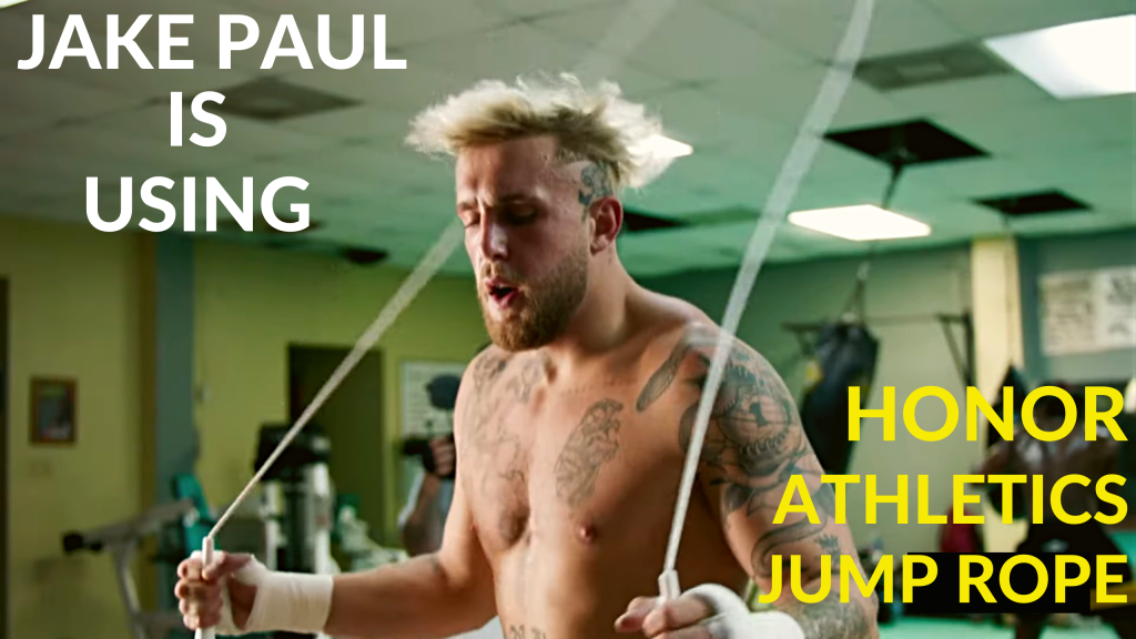 Jake Paul Is Using Honor Athletics Jump Rope